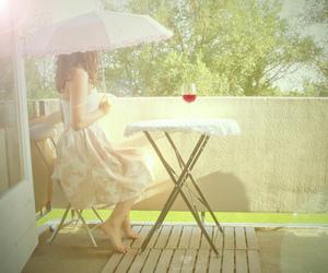 photography, girl, and umbrella image