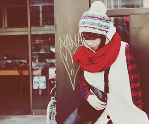scarf and cute image