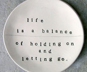 life, quotes, and balance image