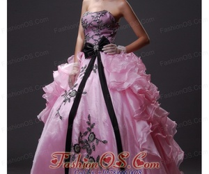 ball gown, puffy dress, and quinceanera image