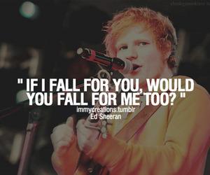 ed sheeran and quotes image