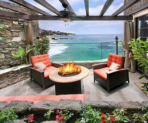 beach, luxury, and sea image