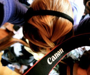 canon, photography, and hair image