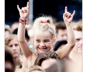 girl, rock, and kids image