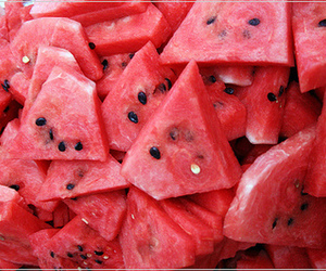 delicious, pink, and watermelon image
