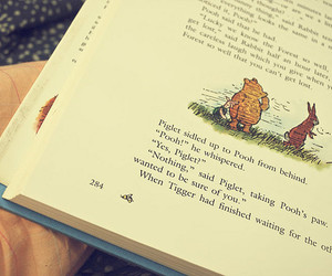 book and pooh image
