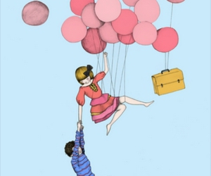 balloons and love image