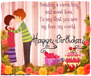 love cards, birthday friends, and birthday greetings image