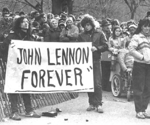 john lennon, forever, and the beatles image