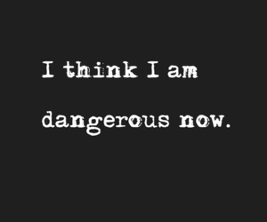quotes, dangerous, and black image