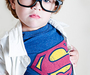 cute, kids, and superman image