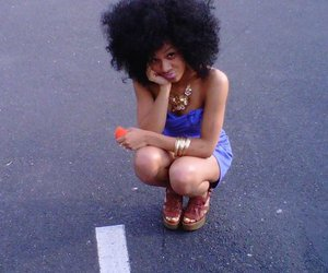 african american, natural hair, and Afro image