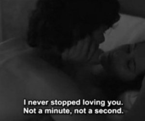 never, romance, and black and white image