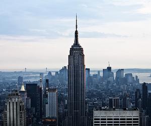 city, photo, and new york image