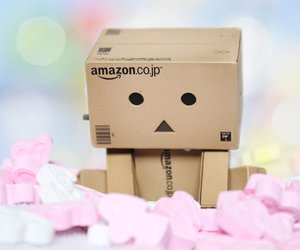 danbo, heart, and love image