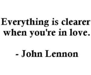 john lennon, quote, and love image