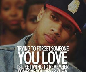 tyga, quote, and love image