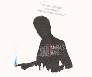 the mortal instruments and magnus bane image