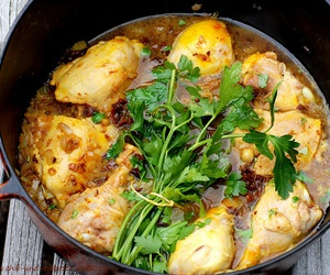 Chicken and tajine image