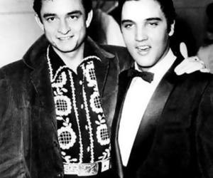 Elvis Presley and Johnny Cash image