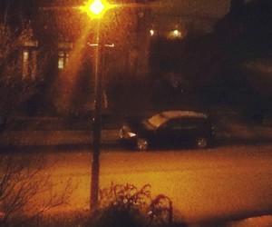 car, december, and streetlight image