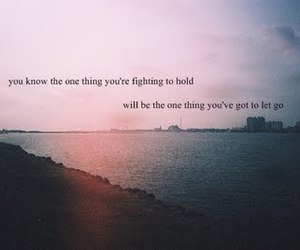 love, fighting, and let go image