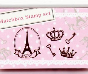 crown, eiffel, and matchbox image