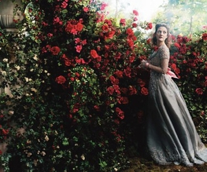 rose, drew barrymore, and red image