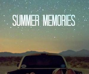 summer, memories, and stars image