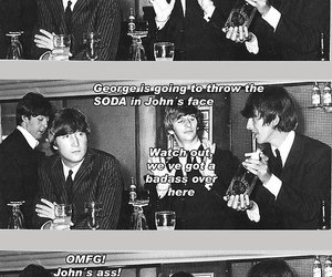 badass, beatles, and funny image