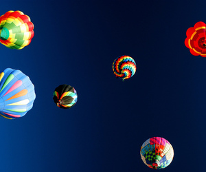 colourful, photography, and hot-air balloon image