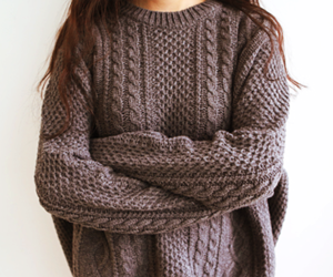 sweater, fashion, and girl image