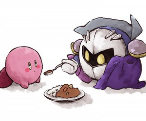 food, kirby, and knight image