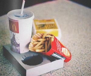 food, mc donalds, and McDonalds image