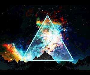 triangle and colorful image