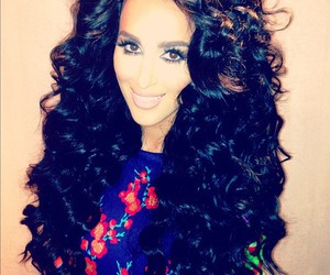 lilly ghalichi and hair image