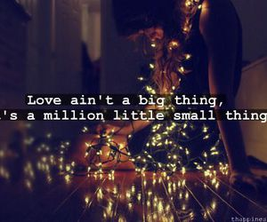 love, text, and lights image