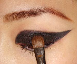 cat and make up image