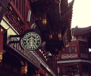starbucks, coffee, and china image