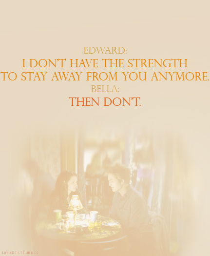 Twilight Quotes Tumblr Shared By Chumie On We Heart It