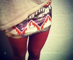 fashion, skirt, and legs image
