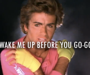 80s, george michael, and wham image
