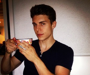 glee and nolan gerard funk image