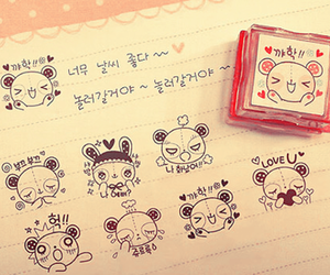 cute, kawaii, and korean image