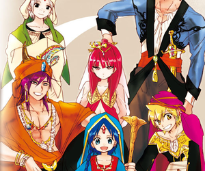 magi, aladdin, and Sinbad image