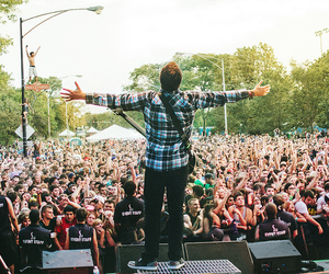 a day to remember, kevin skaff, and riot fest image