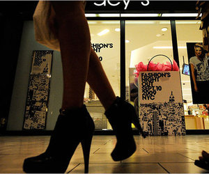 fashion, macys, and heels image
