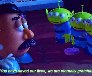 mr. potatohead and toystory phrases quotes image