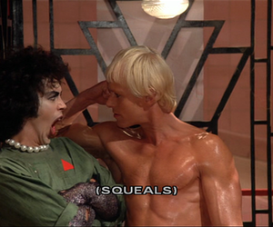 rocky horror picture show, The Rocky Horror Picture Show, and frank-n-furter image