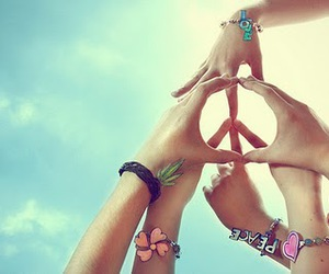 moon and peace image